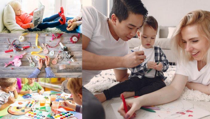 Τι να κάνω με το παιδί σπίτι - Ιδέες απασχόλησης