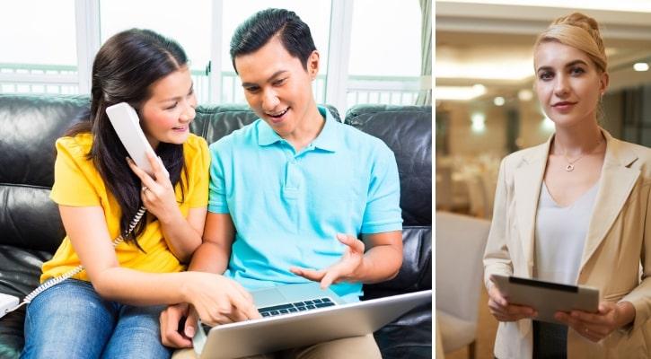 Ενημέρωση καλεσμένων και επαγγελματιών γάμου