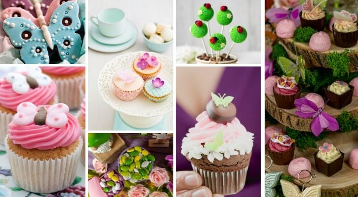 Γλυκά και τούρτα για βάπτιση