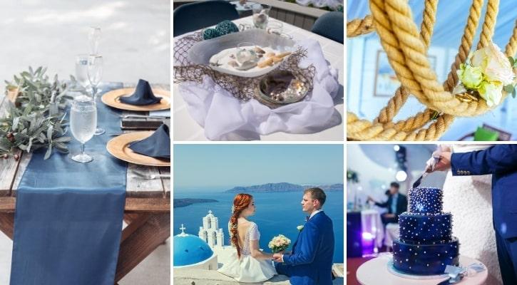 Ναυτικό – θαλασσινό θέμα γάμου - τι θέμα γάμου να διαλέξω