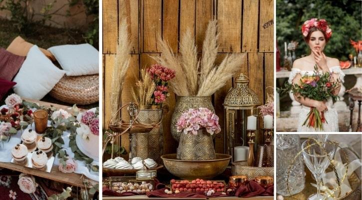 Τι θέμα γάμου να διαλέξω Μαροκινό boho θέμα γάμου