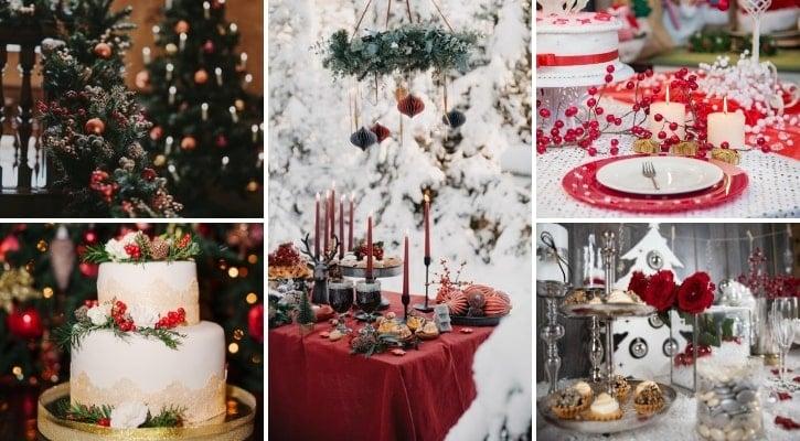 Χριστουγεννιάτικο θέμα γάμου - τι θέμα γάμου να διαλέξω