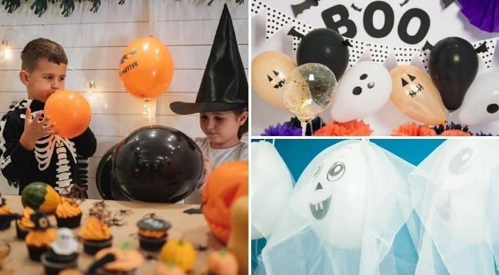 Μπαλόνια για Halloween