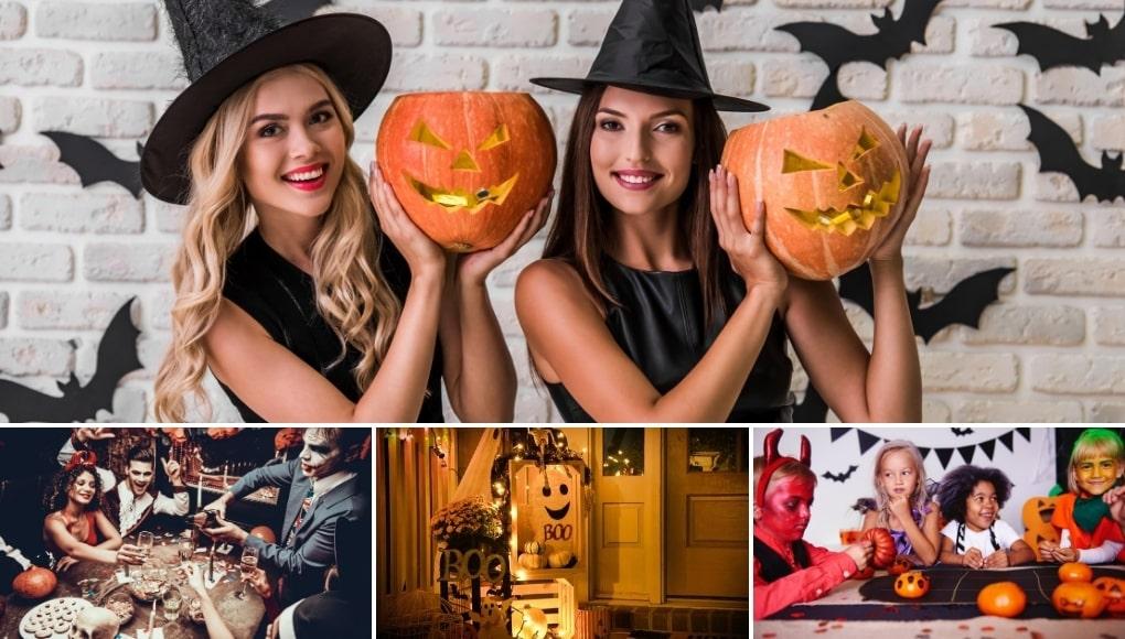 9 Ανατριχιαστικές Ιδέες Διακόσμησης για Halloween Πάρτι