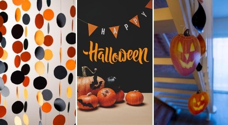 DIY γιρλάντα Halloween