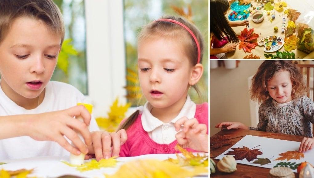 7 Φθινοπωρινές Κατασκευές για Παιδιά