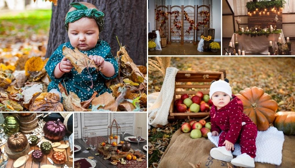 8 Θέματα Βάπτισης Κορίτσι Φθινόπωρο