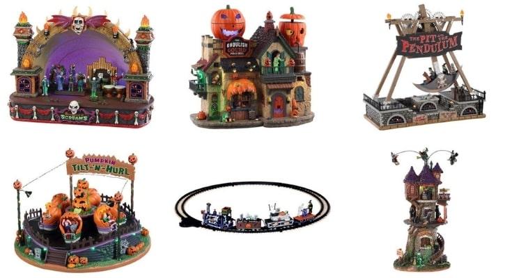 Συλλεκτικά σπιτάκια Lemax για το Halloween της σειράς Spooky Town
