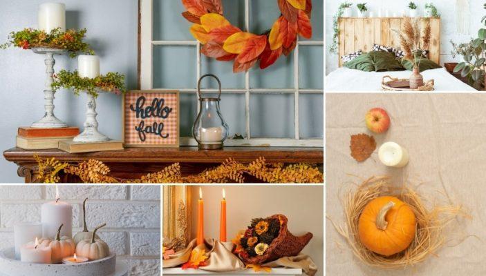 10 + 1 Οικονομικά DIY Φθινοπωρινά Διακοσμητικά